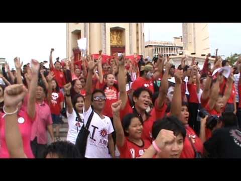 Thailand's Red Shirts stage new protest in Bangkok