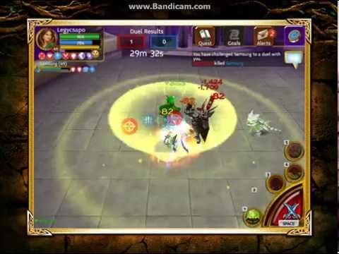 Arcane Legends duel - Legycsapo VS Samsung