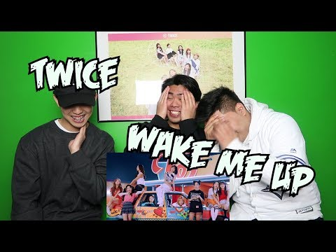 TWICE - WAKE ME UP M/V REACTION (REAL TWICE FANBOYS)