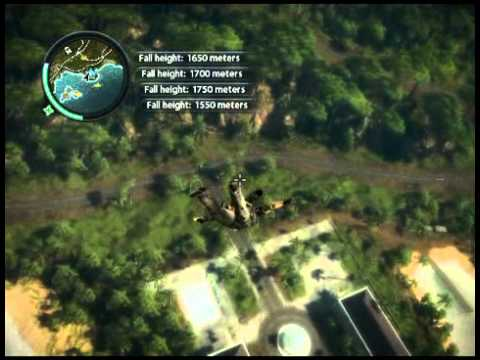 Just Cause 2- 2014 Meter Free Fall