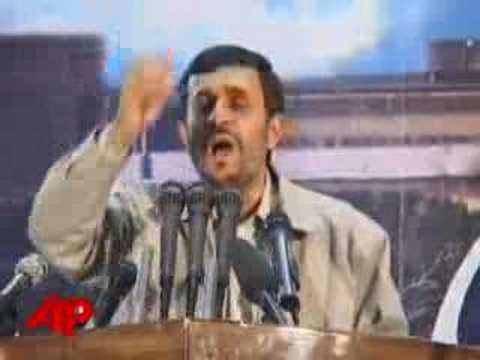 Ahmadinejad: Israel Will Disappear From Map