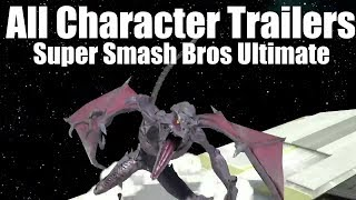 Super Smash Bros. Ultimate - ALL CHARACTER TRAILERS (Final Smashes)