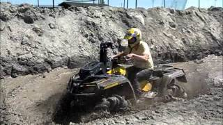 Pilot Mound ATV Quad Mud Bog 2012