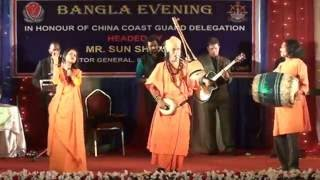 samir baul সমির বাউল bengali lalon giti stage show  গান হে গুরু গো...