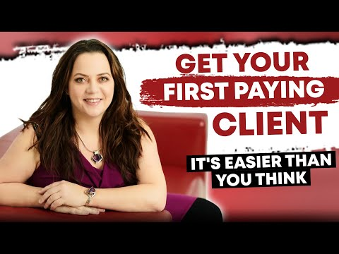 Money In The Bank – Step-By-Step Guide To Your First Client | Bernadette Doyle