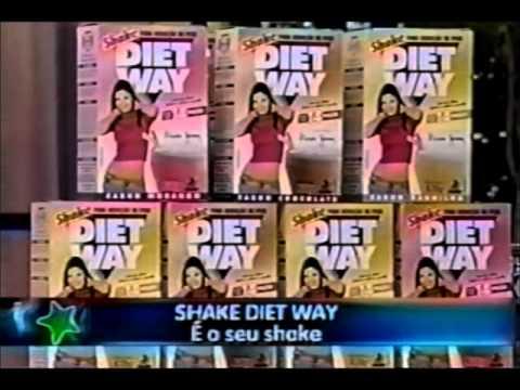 Shake Diet Way Diet Way no Programa Super Pop