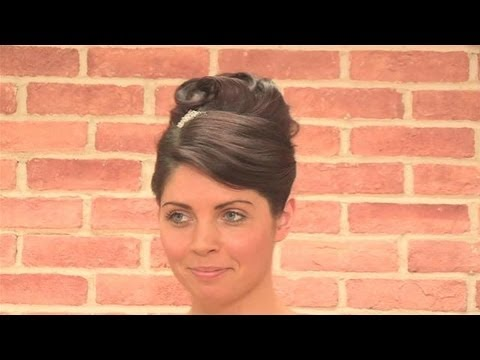 how to do an audrey hepburn hairstyle youtube