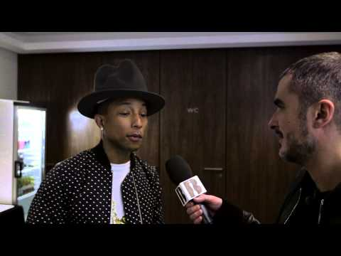 Zane Lowe with Pharrell Part II | Backstage At The BRITs 2014
