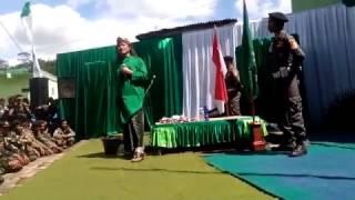 Gus Nuril Ceramah Kebangsaan Saat Apel Siaga Banser Wonosobo dan Banjarnegara