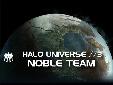 Halo Universe //3 - Noble Team by Mike Copa [German]