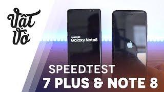 Hiệu năng Galaxy Note 8 & iPhone 7 Plus: kết quả bất ngờ
