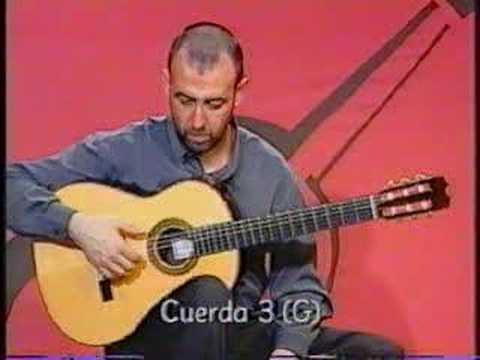 Afinacion guitarra de oscar herrero