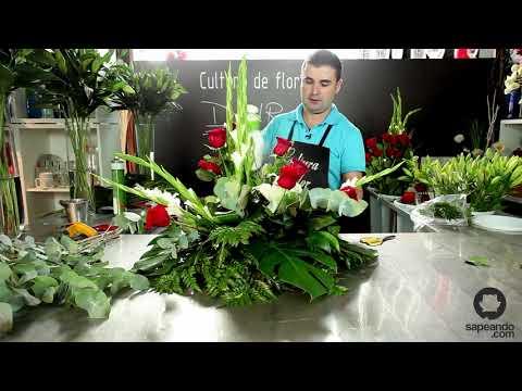 Centro de flores naturales - Cultura de Flor - Sapeando
