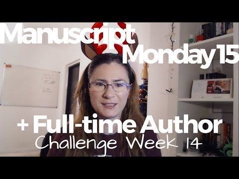 GRWM + Weekly Author Life Vlog #1