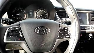 Как снять подушку безопасности на Hyundai Solaris 2