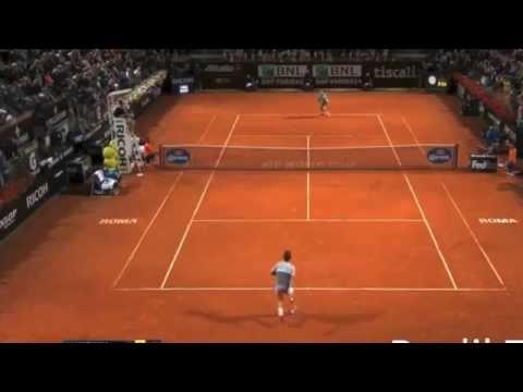 Federer vs Wawrinka Semi-Final Rome 2015(HD)