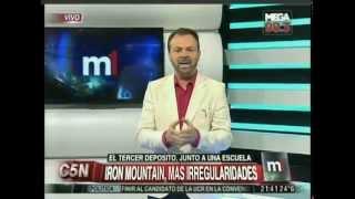 C5N  - MINUTO UNO: LAS CLAUSURAS DE IRON MOUNTAIN