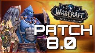 5 DAYS UNTIL BfA - Greenman Challenge | GOOD MORNING AZEROTH World of Warcraft Battle For Azeroth