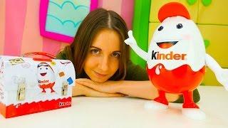 КИНДЕР сюрприз видео для детей. Kinder SURPRISE идет в школу мультики с игрушками. Игры для детей
