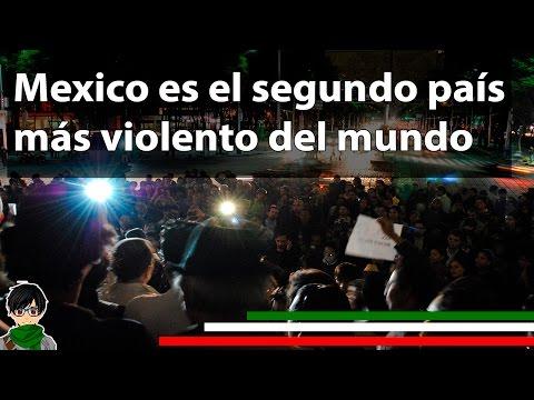 México es el segundo país más violento del mundo