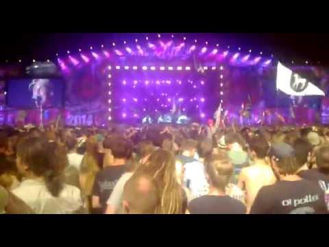 Manu Chao - Clandestino @ Przystanek Woodstock 2014 live Kostrzyn nad Odrą 02/03.08.2014