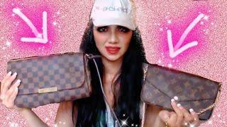 Louis Vuitton Favorite MM -vs- Felicie Chain Wallet | COMPARISON REVIEW