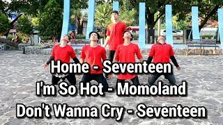 Home - Seventeen + I'm So Hot - Momoland + Don't Wanna Cry - Seventeen Dance Cover by Forza Family