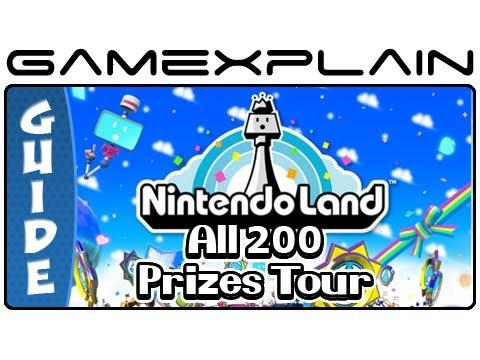 All 200 Nintendo Land Plaza Prizes A-Z w/ Description