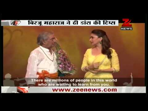 Madhuri Dixit Ropes In Pandit Birju Maharaj To Teach At Her Online Dance Academy video
