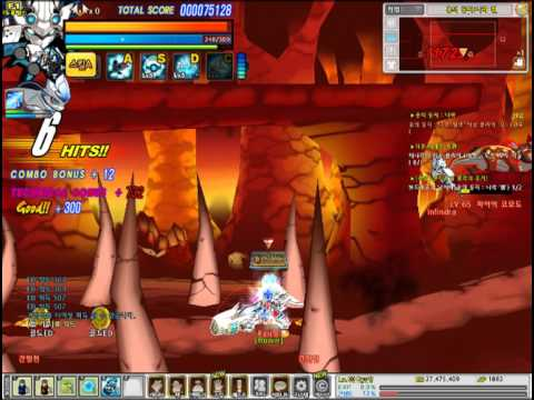 Elsword KR: Shelling Guardian 3-X Hell after Balance Patch (Field + Boss)