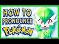 How to Pronounce Pokemon Names
