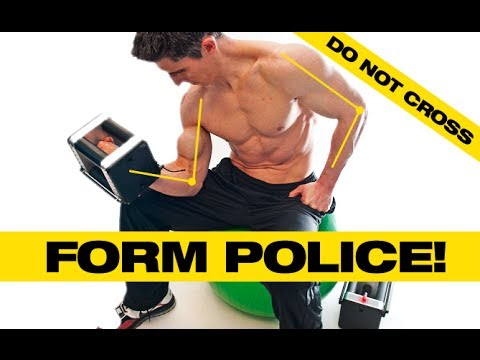 Why Proper Form Is So Important For Muscle Gains! video