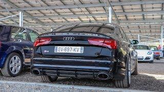 520HP MODIFIED Audi S6 - LOUD V8 Sound + Ride !