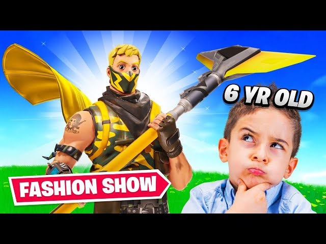 I Let A 6yr Old Judge My Fortnite Fashion Show...