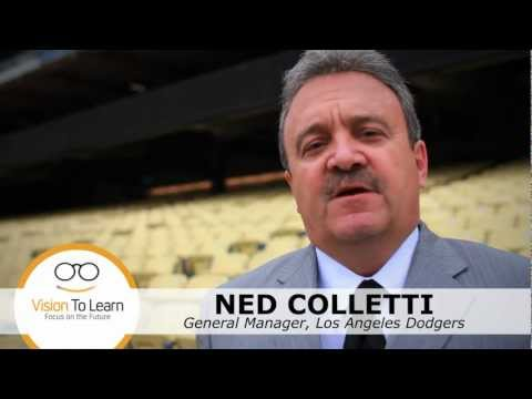 Ned Colletti talks about Vision To Learn