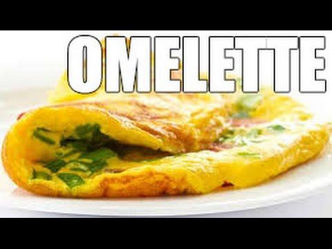 RECETAS DE COCINA Como cocinar un rico omelette con queso en el desayuno | HOW TO MAKE AN OMELETTE