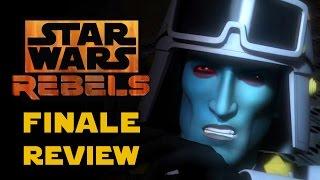 Star Wars Rebels Season 3 Finale - Zero Hour Episode Review