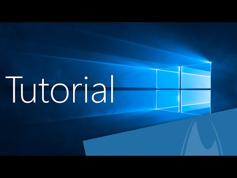 Windows 10 Tutorial (Deutsch/German)