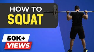 ULTIMATE Squats Tutorial | How to Squat for BEGINNERS | BeerBiceps Workout Coaching
