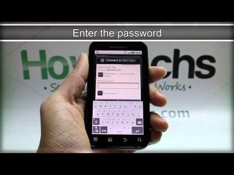 How to Set Up Wi-Fi on MOTOROLA DEFY