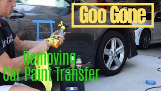 Goo Gone Review: Can it remove car paint transfer