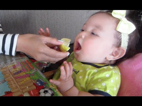 Baby's first LEMON! - May 11, 2013 - itsJudysLife Vlog