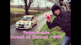 "Porky Inside ""Circuit of Ireland - 2015"", part 1"