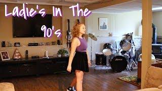 Ladies In The 90 39 S Lauren Alaina Dance