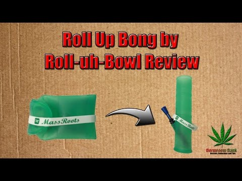 Roll-uh-Bowl Review [Discreet Bong]