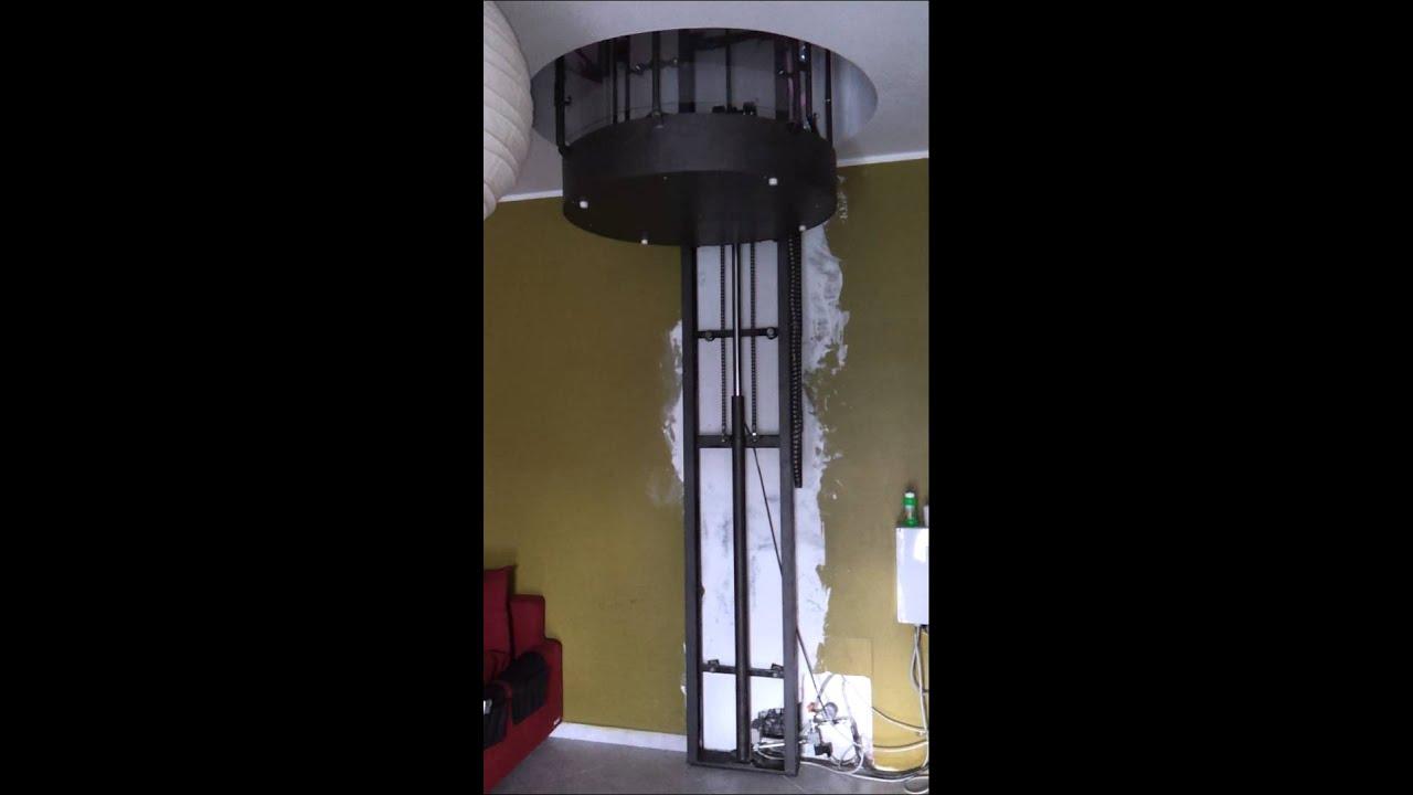 Ascensore pedana elevatrice montacarichi da interno - Costo ascensore esterno 3 piani ...