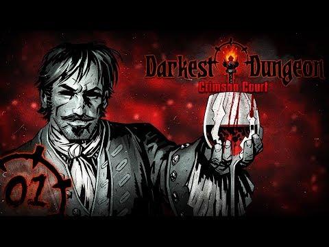 БАГРЯНОЕ ПРОКЛЯТЬЕ   Прохождение Darkest Dungeon: Crimson Court - Серия №1