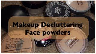 Makeup Decluttering: Face Powders | JustJasmine24