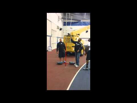 Danny Trevathan UK Pro Day Vertical Jump (Attempt 1)