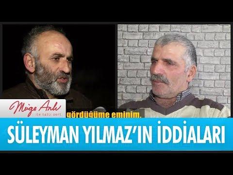 Süleyman Yılmaz'ın çarpıcı iddiaları - Müge Anlı İle Tatlı Sert 26 Aralık